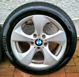 "BMW 16"" ALLOYS 4 X BRAND NEW TYRES 5X120 320 320D 118 318 116 520"