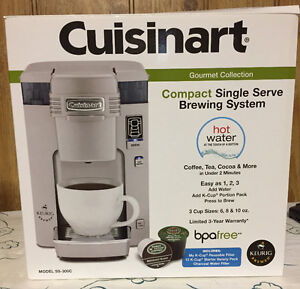 Cuisinart SS-300 Single Serve Brewing System, Silver