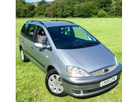 Ford Galaxy 1.9TDCI (115)**Silver Edition**7Seats,6Speed,Low Miles,VW Engine!**