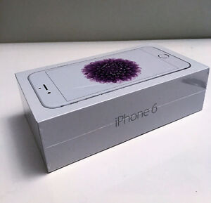 New Iphone 6 - 16 gb - White - with Sasktel