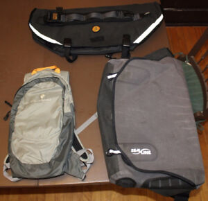 NEW USED Sac Messenger Bag Pannier GREGORY backpack SPECIALIZED
