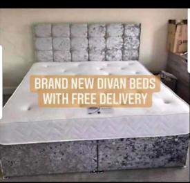 🔵🔵🔴😲£84.99 DIVAN BEDS DELIVERED FOR FREE🚚