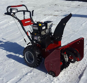 Craftsman Snowblower 3 yrs. Old. Used approx. 5 times