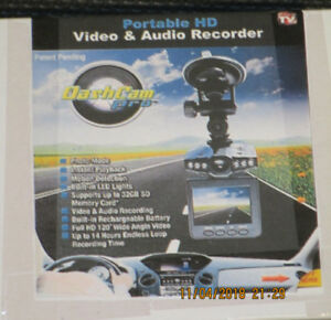 Dashcam Pro Portable HD Video & Audio Recorder