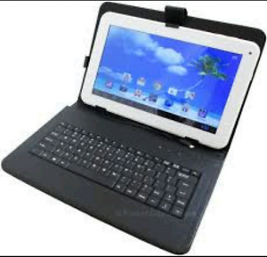 Proscan tablet 9 inch with keyboard.