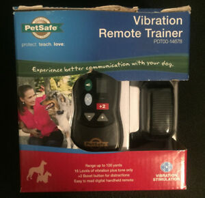 Petsafe vibration remote trainer. Sealed in box