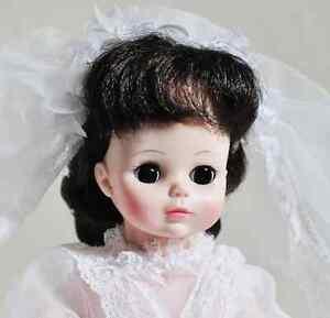 """MADAME ALEXANDER DOLL BRIDE #1570 14"""" VINTAGE XLNT COND w BOX"""