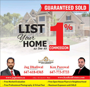 ****SELL YOUR HOME FOR 1%**** FREE LAWYER SERVICE