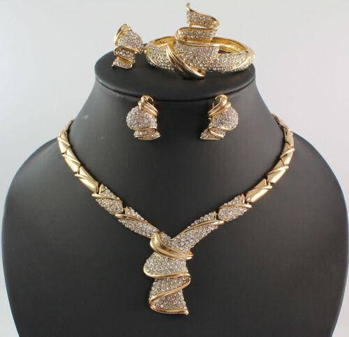 Diamond Rings Sale Dubai: Fashion Women 18K Gold Plated Africa Dubai Wedding Party
