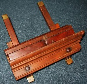 Antique Wood Working Wedge Arm Molding Plow Plane Hand Tool Prince George British Columbia image 5