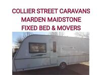 2009 coachman pastiche 530/4 berth fixed bed caravan