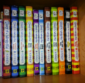 11 Diary of a wimpy kid books