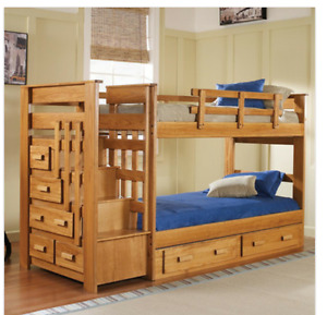 Wooden Bunk Bed $900 OBO