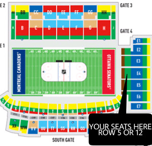 MONTREAL CANADIENS OUTDOOR GAME TICKETS DEC.16TH