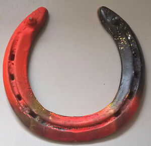 Vintage Cast Iron  Horseshoe Western Primitive Decor
