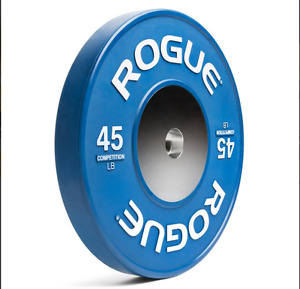 Rogue Competition Plates Westside power bar and Collars