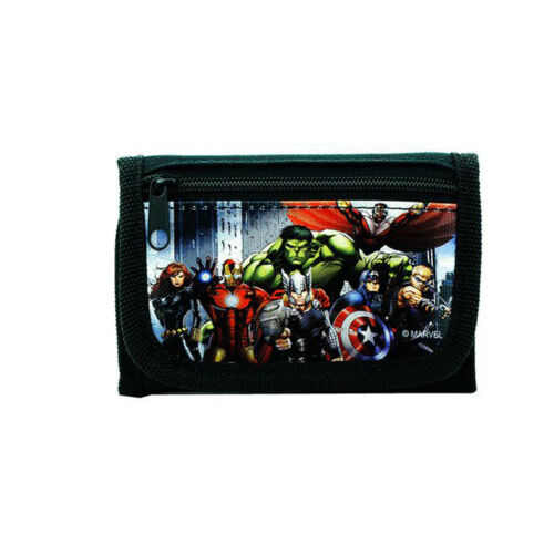 Avengers Wallet for Boys Superheroes Kids Wallets Trifold Co