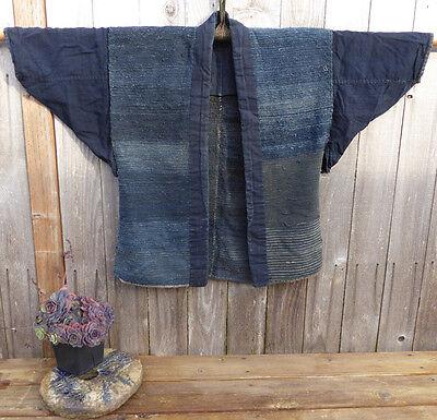 Vintage Japanese Sakiori Jacket, Hanten
