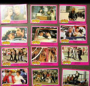 """1978 """"GREASE"""" COLLECTOR CARDS - UNIVERSAL STUDIOS - 50 TOTAL"""
