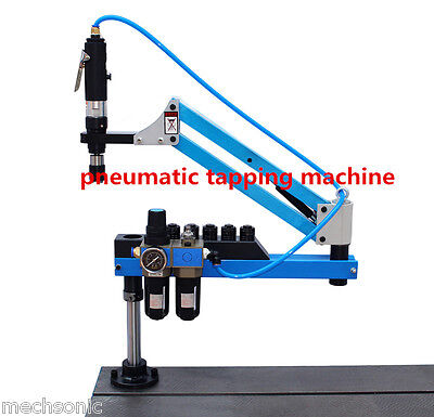 Universal Flexible Arm Pneumatic Air Tapping Machine 360 Angle 1000mm M3-m12 S1