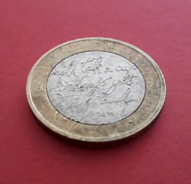 MIX AND MATCH - 2009 Robert Burns £2 two pounds coin
