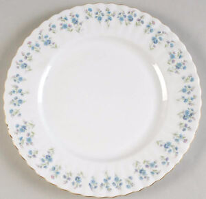 8 Salad Plates Memory Lane by ROYAL ALBERTSet of 8 Available