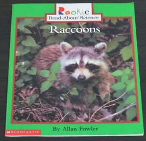 Rookie Read-About Science Ser. Animals Ser.: Raccoons by Allan F