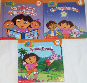 Qty 3 Sets of 3 Dora Hard Cover books London Ontario image 1