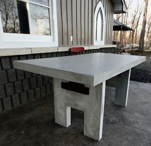 Concrete Projects  tables firepots, countertops, outdoor/indoor London Ontario image 6