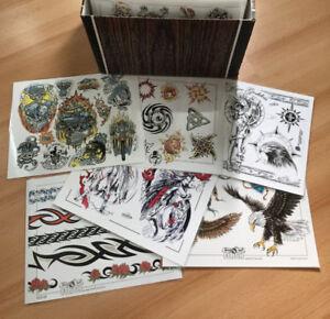 500 Feuilles/ Sheets Tattoo Flash