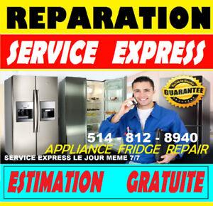 5RÉPARATION FRIGIDAIRE FRIGO RÉFRIGÉRATEUR (514)812.8940 ELECTRO