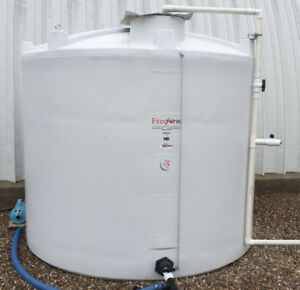 Plastic Water Storage Tank - 2500 U.S. Gal Freeform Gen 2