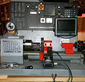 EMCO Compact 5 CNC for Sale
