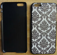"NEW IPHONE 6 (4.7"") & 6 PLUS HARD COVER CASE, TATTOO PRINT STYLE"