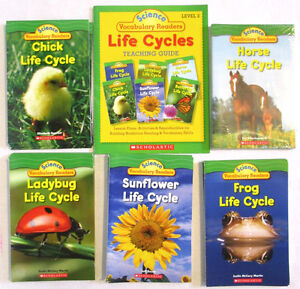 LIFE CYCLE SCIENCE Vocabulary Readers with teaching guide