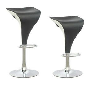 Brand new CorLiving Black & White Adjustable Two Toned Barstool