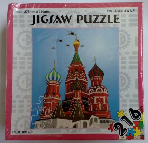 2 Set of Jigsaw Puzzles