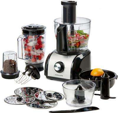 Andrew James Multi-Function Food Processor with Blender, Chopper & Mixer