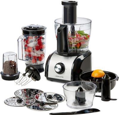 Andrew James 800W Food Processor Blender Chopper Mixer Juicer Coffee Grinder