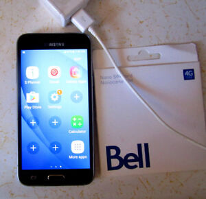 Samsung Galaxy J3 6 Cell Phone Android Sim Card Bell