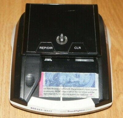 Counterfeit Money Bill Uv Detector Scanner Fraud Fighter Ct-550 Please Read