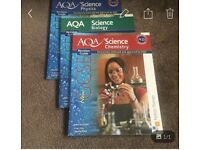 GCSE science books