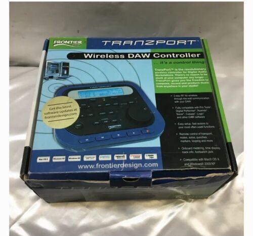 Frontier Design Group's TranzPort Wireless DAW Controller New Batteries!