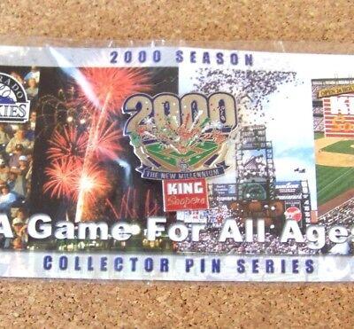 2000 Season Colorado Rockies Pin The New Millenium King Soopers Fireworks