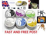 magnetic putty slime hand mud play dough Plasticine bouncy ball christmas present stocking filler