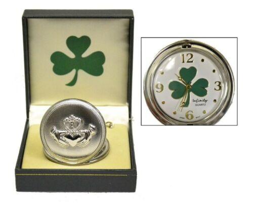 Irish Clover Pocket Watch St Patrick