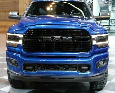 """NEW 2019 Dodge """"RAM"""" 2500, 3500 Flat Black Grille Nameplate / Letters, OEM Mopar"""