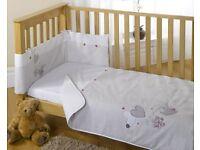 Blair de Lune Lots of Kisses bedding set (RRP:£20.00)