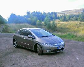 Honda Civic 1.8 i VTEC EX 5dr (2008)