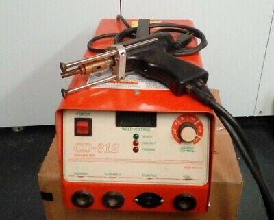 Pro-weld Cd-312 Stud Welding Machine 110v Adjustable Voltage Welder Stud Gun